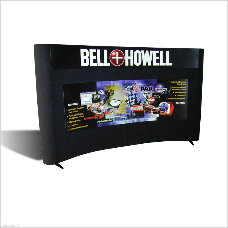Bell & Howell Publishing Services / ProQuest – Tabletop Display Panels for Automotive Industry Event (approx. 6' x 3')